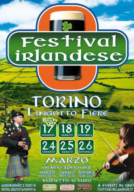Фестиваль ирландии в Турине