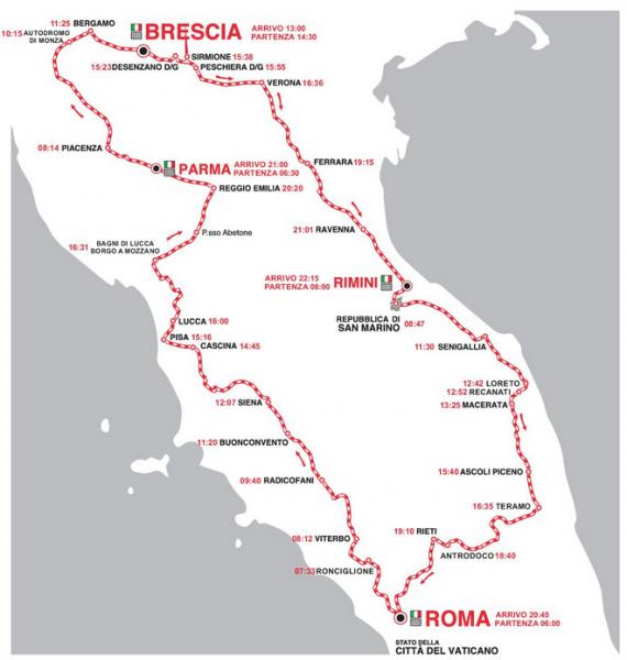 Милле Милья 2015 карта