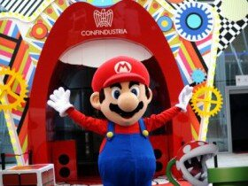 Телепузики и Супер Марио на выставке Экспо