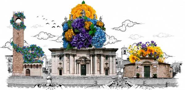 Цветы в Брешии