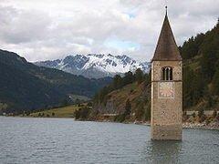 Lago di Resia- Reschensee