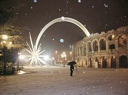 Verona. Piazza Bra.