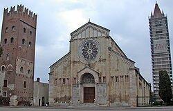 Церковь Сан Дзено Маджоре (Святой Зинон Веронийский) - одно из самых веронских мест в Вероне