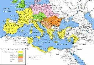 Римская империя после завоевания Галлии