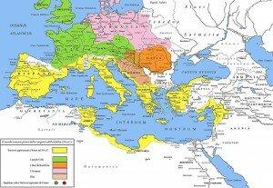 Римская империя до завоевания Галлии Цезарем