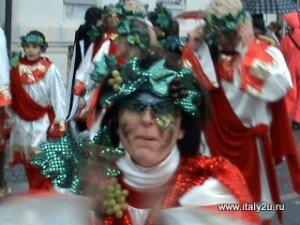 Персонажи карнавала Виареджо