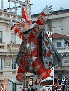 Burlamacco - Бурламакко - официальный символ карнавалв в Виареджо