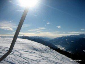 Bormio горные лыжи - солнце