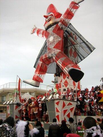 Burlamacco - Бурламакко - символ карнавала в Виареджио