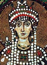 Императрица Феодора. Мозаика в церкви Сан-Витале