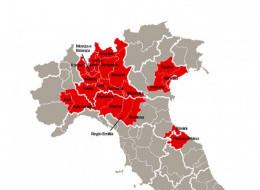Карантин на севере Италии