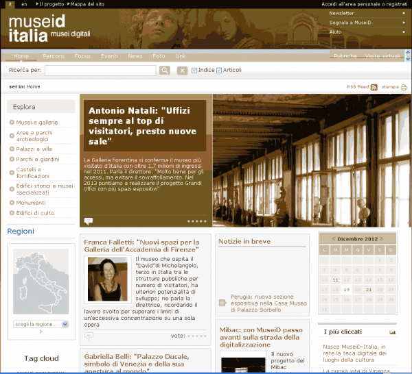 MuseiD-Italia Screenshot